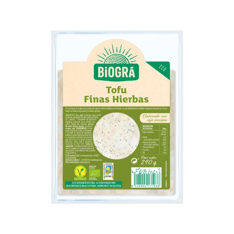 Tofu con hierbas