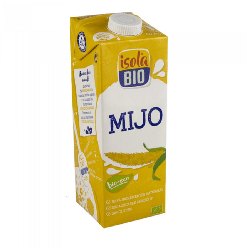 Bebida de mijo Bio Isola