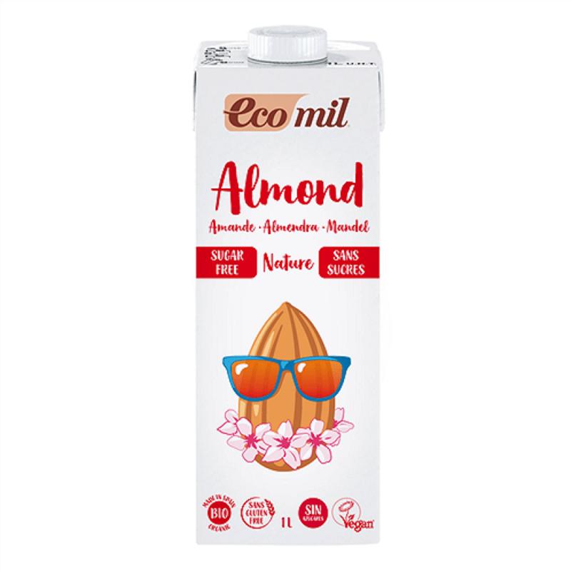 Bebida de almendras Bio sin azúcar Ecomil