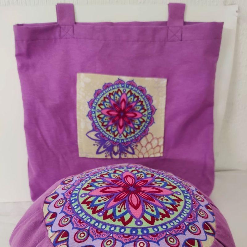 Pack zafú de meditación + bolsita