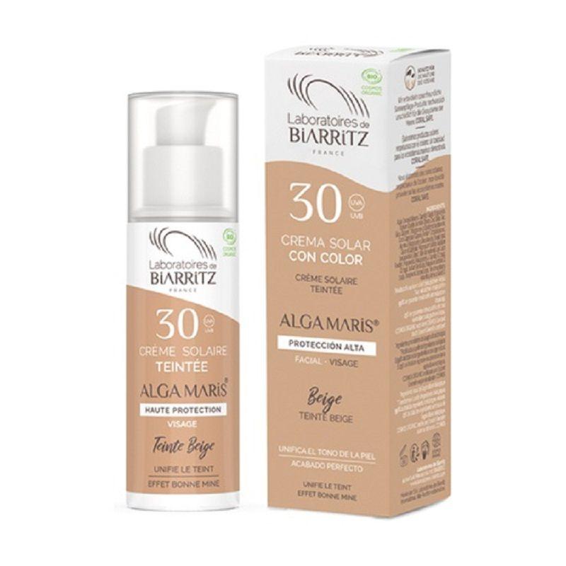 Crema facial Color Beige SPF30 Alga Maris